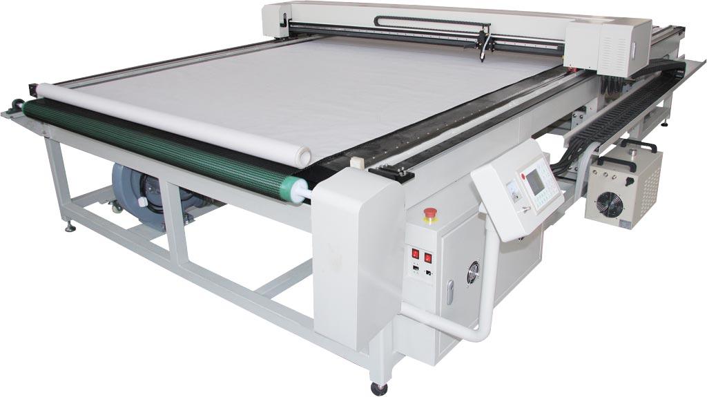 Corte a laser para materiais grandes