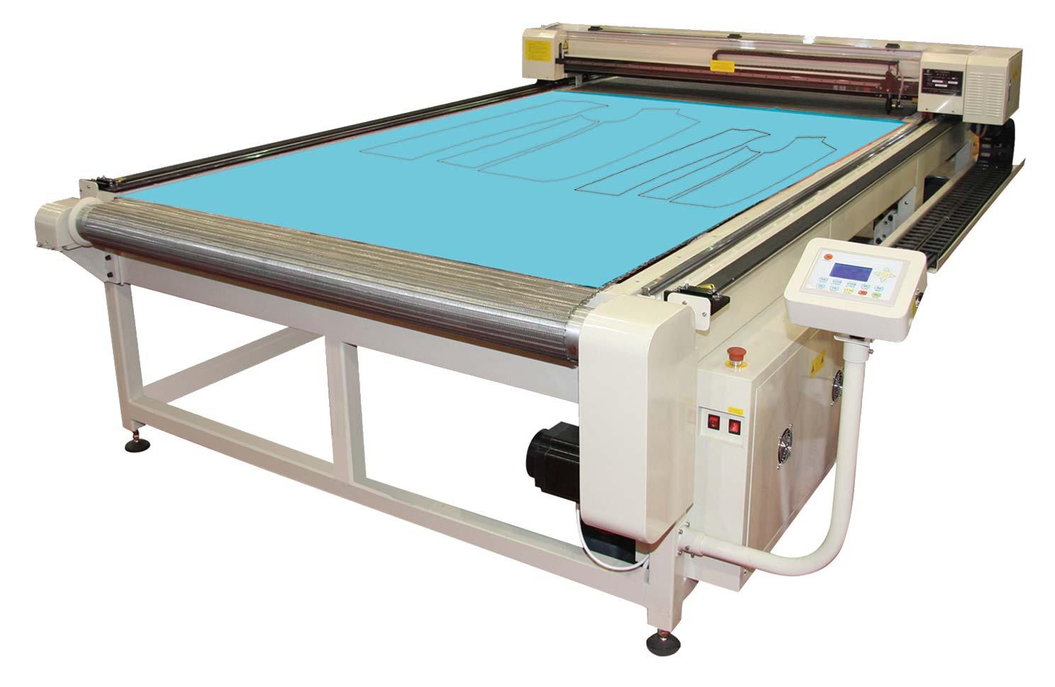 Maquina de cortar tecido a laser preço