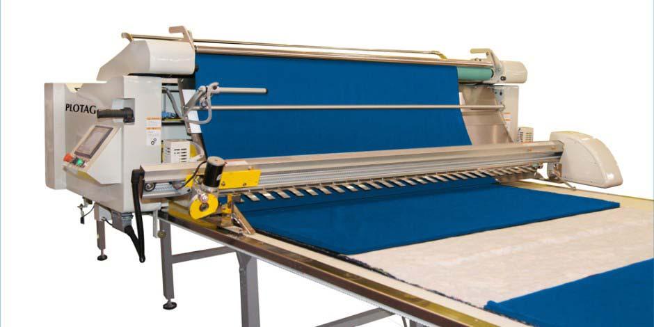 Maquina enfestadeira de tecido
